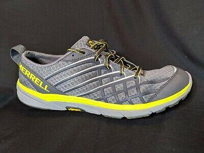 Merrell Performance Footwear Vibram Womens Charcoal Training Hiking Shoes 9.5