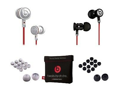 Black / Silver urBeats by Dr Dre Earbuds with Mic In-Ear Beats Earphones Earbuds (Red 7 Mic)