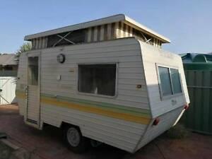 JUST  SOLD,  1980 windsor the windcheater caravan pop top