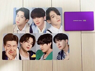 BTS SAMSUNG galaxy S20 photo card New version official Limited edition authentic