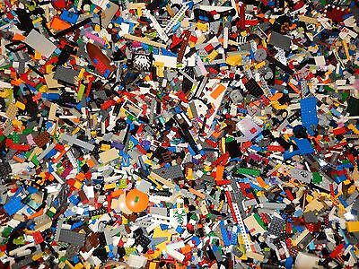 2 POUNDS OF LEGOS Bulk lot Bricks parts pieces - 100% Lego Star Wars, City, ~Etc - Parts Pieces Legos