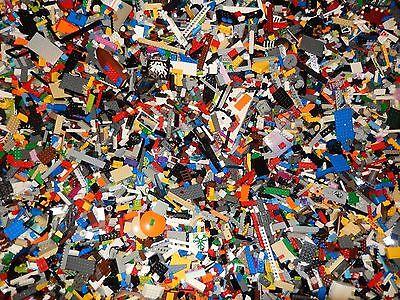 2 POUNDS OF LEGOS Bulk lot Bricks parts pieces - 100% Lego Star Wars, City, ~Etc - Part City