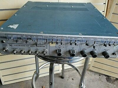 Tektronix Type 140 Ntsc Test Signal Generator Used Working Condition