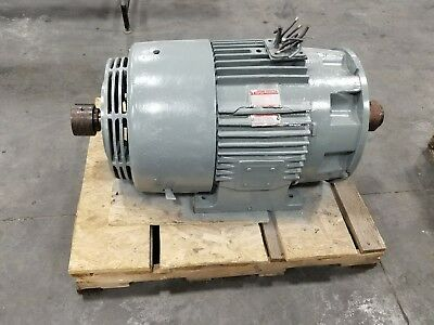General Electric 5ks444sn3004v 100 Hp Dual Shaft Electric Motor 1180 Rpm 3217sr