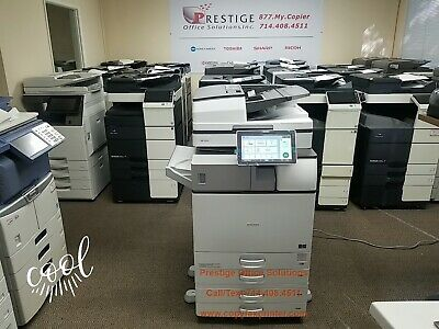 Ricoh Mp 3555 Blackwhite Copier Printer Scanner Super Low Meter Count Only 39k