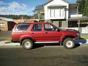 1991 Toyota 4 Runner Wagon Kingston Beach Kingborough Area Preview