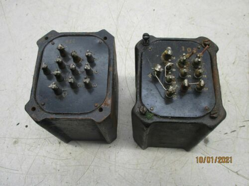 2 UTC LS-50 pre-war for pre-amplifier output
