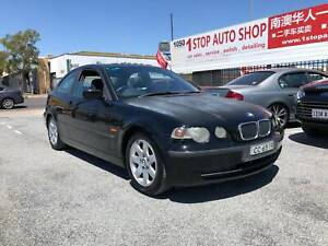 2001 BMW 316ti Hatchback, manual, 182k kms, book, cold AC Melrose Park Mitcham Area Preview