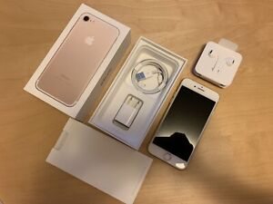 iPhone 7 Gold 128gb unlocked - perfect condition