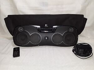 Logitech S715i Mp3 Rechargeable Speaker With Power Cord, Remote and Case