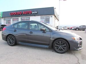 2015 Subaru IMPREZA WRX WRX SPORT CAMERA SUNROOF 6 SPEED CERTIFI