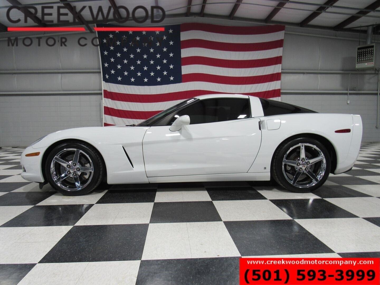 2007 White Chevrolet Corvette Coupe    C6 Corvette Photo 6