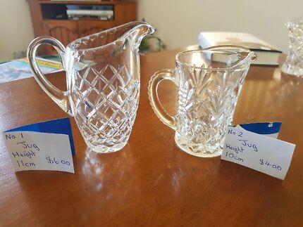 Wedding Decor Rustic Vintage Vases Glass Crystal