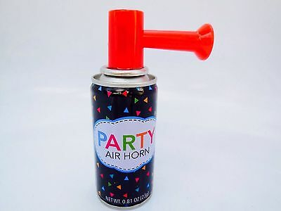 2 X Air Horn Portable security safety Party Sports Boat LOUD BLAST .81OZ