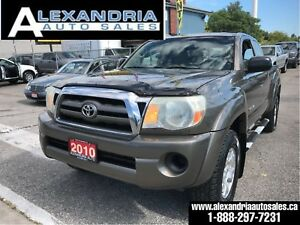 2010 Toyota Tacoma 4x4/V6/full service records/1owner/accident f