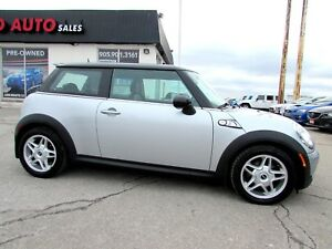 2008 Mini Cooper S Turbo 6 Speed Manual Certified 2YR Warranty