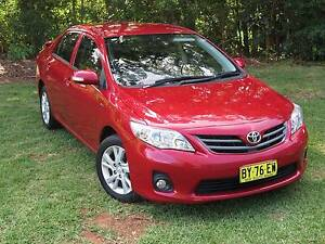 2011 Toyota Corolla Manual Sedan ONLY 65000 kms **Last Days** Bonville Coffs Harbour City Preview