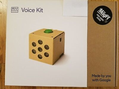 Google Aiy Projects Voice Kit   Includes Magpi Essentials Free Guide   New