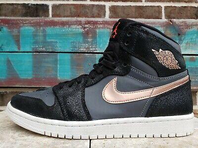 2016 Men's NIKE Air Jordan 1 Retro High Bronze Metal 332550 016 Shoes Men Size 8
