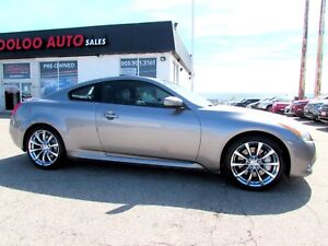 2008 Infiniti G37S G37S COUPE AUTO LEATHER SUNROOF CERTIFIED 2YR