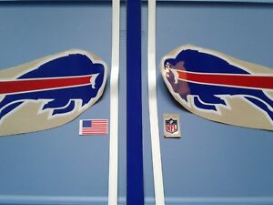 Buffalo Bills TB 90s football helmet decals set