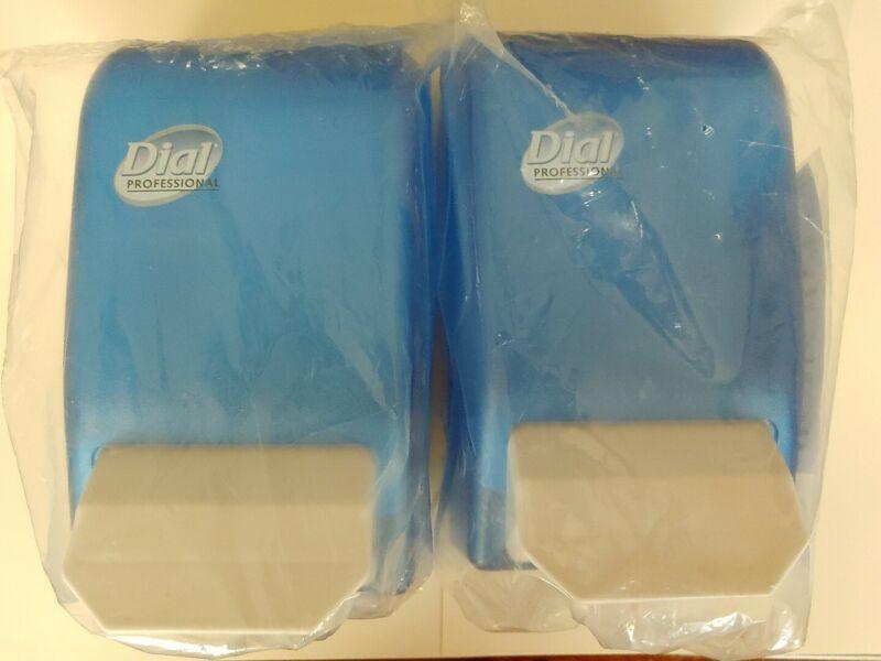 2 DIAL PROFESSIONAL Commercial LIQUID SOAP DISPENSER WALL MOUNT, 800mL