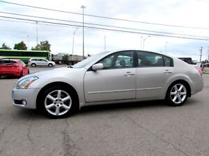 2005 Nissan Maxima 3.5 V6 DOUBLE SUNROOF ALLOYS LEATHER CERTIFIE