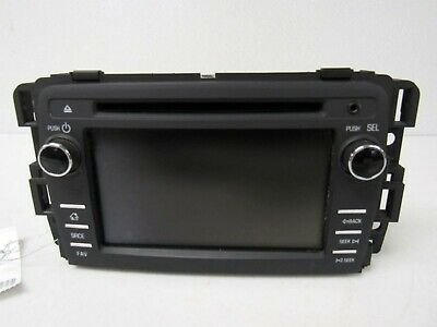 2013-2014 CHEVY TRAVERSE RADIO AM/FM/CD AUX USB DISPLAY RECEIVER TOUCH SCREEN