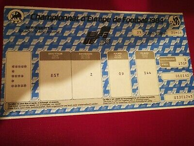 Ticket Euro 1984 France Portugal