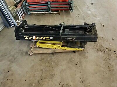 Hyster 18 3-stage Upright Side Shift Tilt Forklift Mast From S30xl Lift Truck