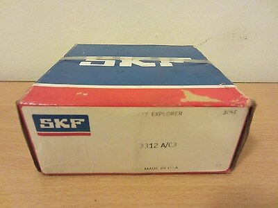 Skf 3312 Ac3 Angular Contact Bearing Double Row