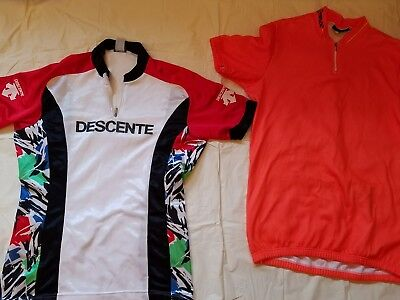 Descente  and Tommaso Cycling Jersey bike shirt Size M  Great Value!! (Cycling Value T-shirt)