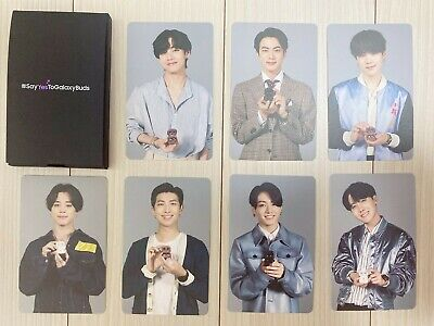 BTS SAMSUNG galaxy Buds Live photo card Set official Limited edition authentic