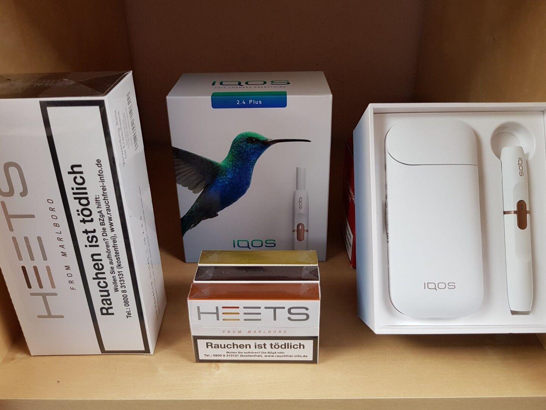 IQOS Starter Kit 2.4Plus neu2018Weiss+100 Heets nach erfolgreicher Registrierung