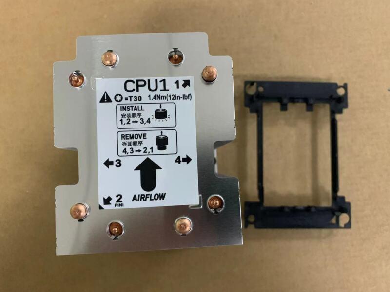 newnewDell R5NN8 0R5NN8 Precision T7920 CPU Heatsink with Black Cage