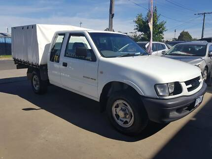 2001 Holden Rodeo Space Cab Tray Ute LOW KMS AUTO TIPPER Williamstown North Hobsons Bay Area Preview