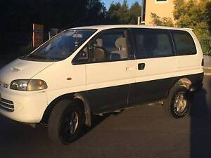 1994 Mitsubishi Delica Van 4WD automatic turbo diesel - awesome! Ryde Ryde Area Preview