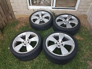 Genuine BA series Ford FPV GT wheels with Hankook 245/35/ZR19 Dakabin Pine Rivers Area Preview