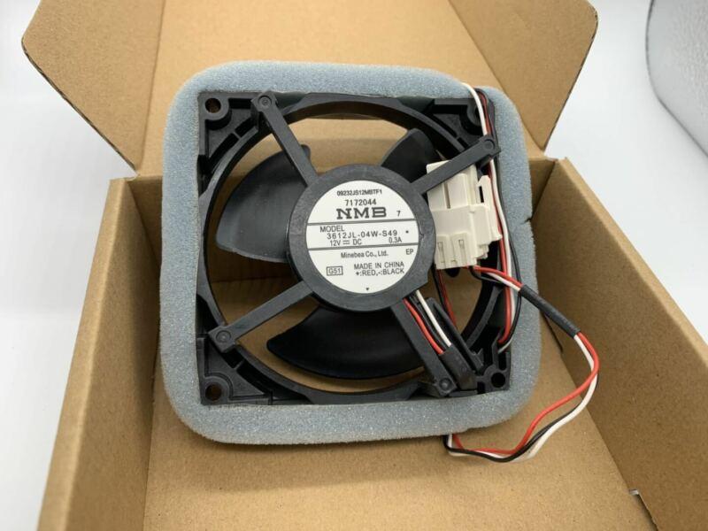 FOR Samsung refrigerator fan NMB-MAT MODEL 3612JL-04W-S49 12V 0.3A 9.2cm