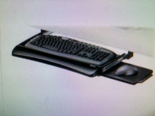 FELLOWES KEYBOARD DRAWER With Built In Mouse Tray~New in pac