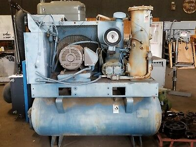 Quincy Twin Screw Air Compressor Qst30 Ana325q