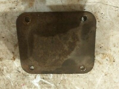 Oliver 77 Tractor Steering Gear Box Top Cover Plate Part