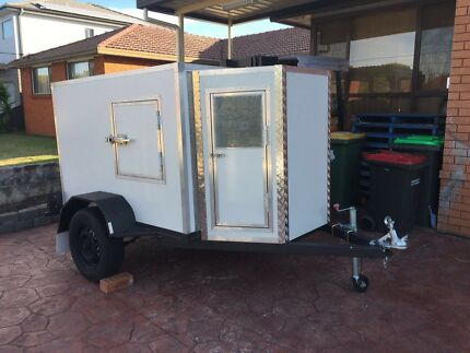Mobile Coolroom Excellent Condition Rego Trailer
