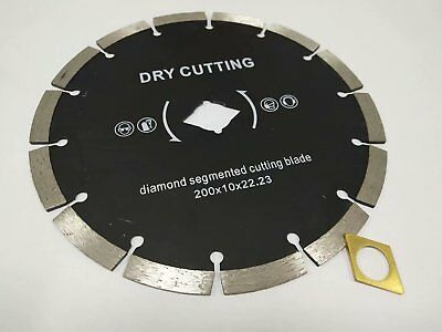 10 X 8 Inch Diamond Segment Cutter Blade Granite Concrete Tile Stone Floor Wall