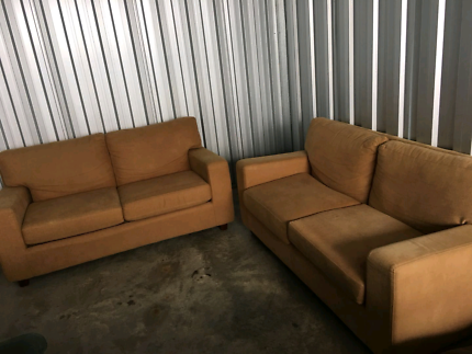 2×two seater in good condition