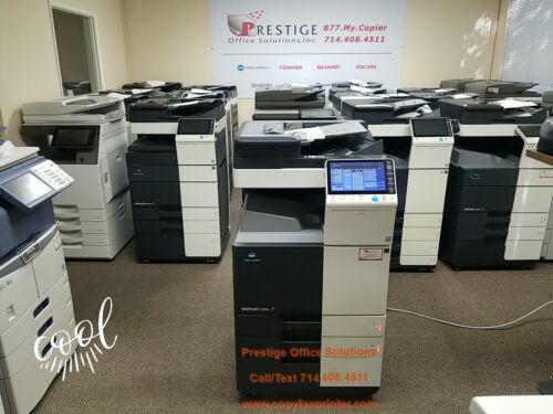 Konica Minolta Bizhub C284e Copier Printer Scanner. Meter Only 93k