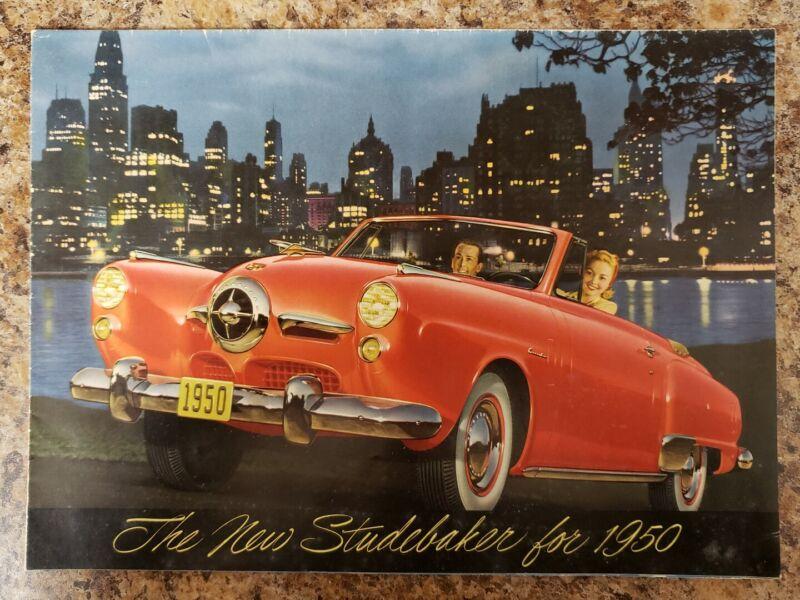 1950 Studebaker Sales Brochure Original Poster Brochure