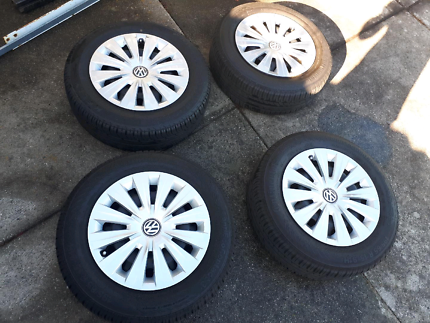 VW Golf wheels and tyres