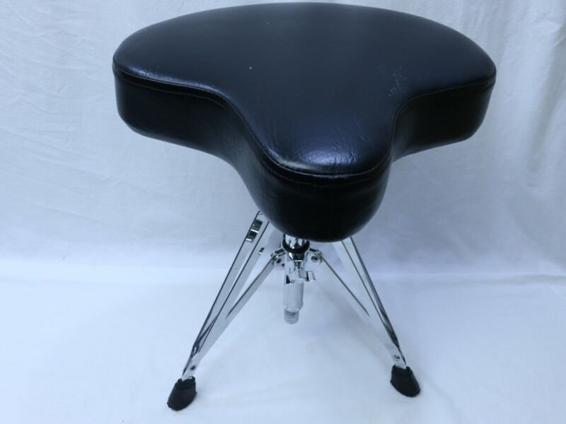 Gibraltar V-Drum Percussion Throne Chair Seat Stool - NICE !