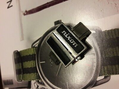Nixon The Rotolog  Watch Buckle Deployment Band Clasp Wristband
